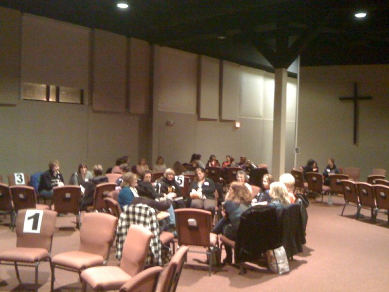 On Tuesday night, YOUNG ADULT GROUPS MET.